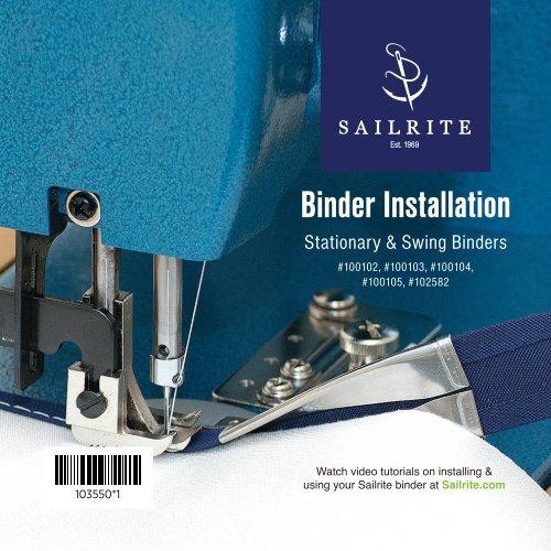 Binder Installation