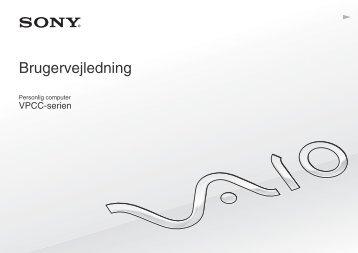 Sony VPCCB3S1R - VPCCB3S1R Istruzioni per l'uso Danese