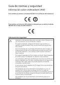 Sony SVS1513V9R - SVS1513V9R Documenti garanzia Spagnolo - Page 5