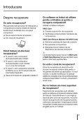 Sony VPCYB3Q1R - VPCYB3Q1R Guida alla risoluzione dei problemi Rumeno - Page 3
