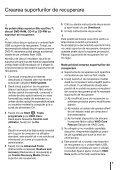 Sony VPCYB3Q1R - VPCYB3Q1R Guida alla risoluzione dei problemi Rumeno - Page 5