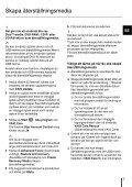 Sony VPCYB3Q1R - VPCYB3Q1R Guida alla risoluzione dei problemi Svedese - Page 7