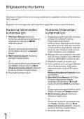 Sony VPCYB3Q1R - VPCYB3Q1R Guida alla risoluzione dei problemi Turco - Page 6