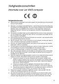 Sony SVT1311C4E - SVT1311C4E Documenti garanzia Olandese - Page 5