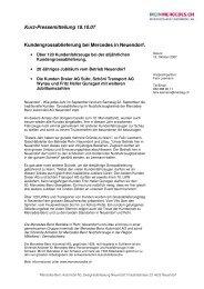 Kurz-Pressemitteilung 18.10.07 ... - Mercedes-Benz Automobil AG