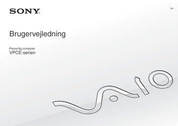 Sony VPCEB3Z1R - VPCEB3Z1R Istruzioni per l'uso Danese