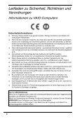Sony VPCEB3Z1R - VPCEB3Z1R Documenti garanzia Tedesco - Page 6
