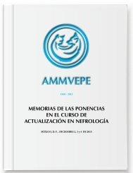 Memorias Curso Actualización Nefrología - AMMVEPE 2015