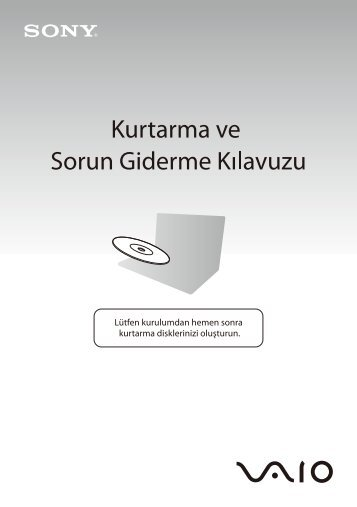 Sony VGN-SR59VG - VGN-SR59VG Guida alla risoluzione dei problemi Turco