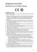 Sony VPCEH3M1E - VPCEH3M1E Documenti garanzia Olandese - Page 5