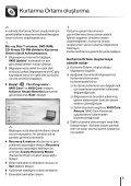 Sony VPCJ12M1E - VPCJ12M1E Guida alla risoluzione dei problemi Turco - Page 5