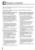 Sony VPCJ12M1E - VPCJ12M1E Guida alla risoluzione dei problemi Portoghese - Page 6