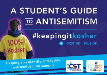 A STUDENT'S GUIDE ANTISEMITISM