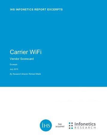Carrier WiFi