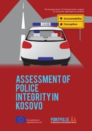 assessment of police integrity in KOSOVO