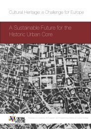 A Sustainable Future for the Historic Urban Core