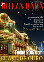 Beleza Rara - 6ª Edição - Dezembro 2015