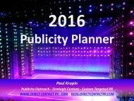 Publicity Planner