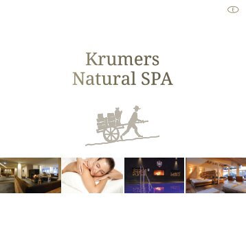 Krumers SPA Menu | ENGLISH