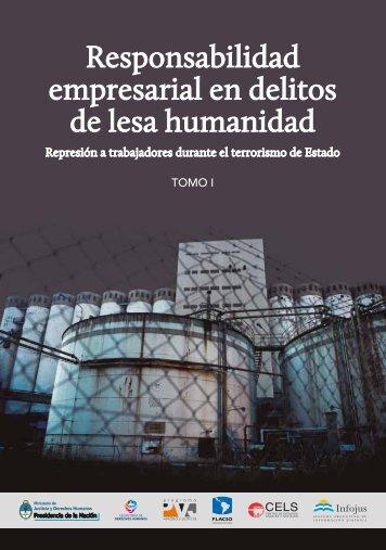 Responsabilidad empresarial en delitos de lesa humanidad