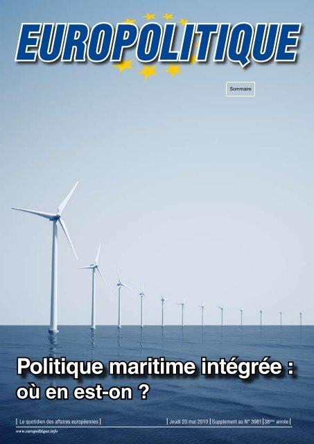 Politique maritime intégrée : - Europolitique