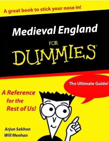 MedievalEnglandforDummies