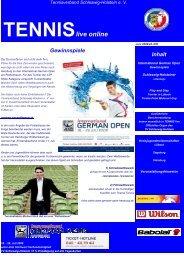 Tennis live online 1009 - Tennisverband Schleswig-Holstein