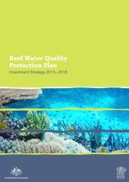 Reef Water Quality Protection Plan