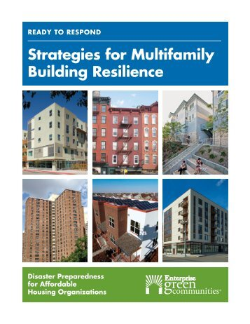 Strategies for Multifamily Building Resilience