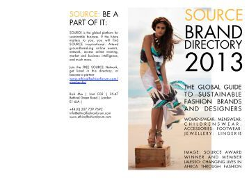 SOURCE Brand Directory 2013