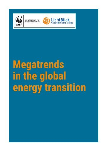 Megatrends in the global energy transition