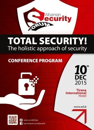 Albanian Security Forum - Program