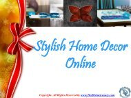 Affordable Home Decor Items
