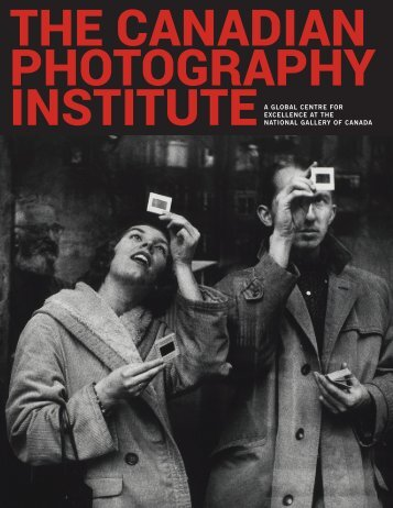 THE CANADIAN PHOTOGRAPHY INSTITUTE