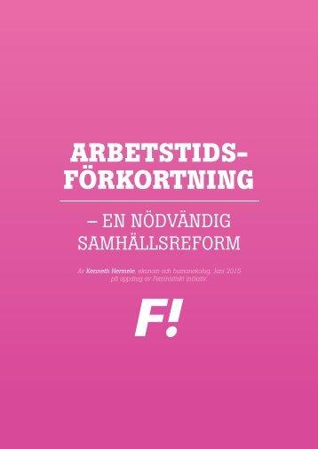 ARBETSTIDS- FÖRKORTNING
