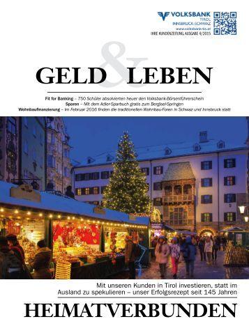 Geld & Leben Nr. 4 - Dezember 2015