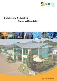 Elektrische Sicherheit Produktübersicht - Automobil Industrie