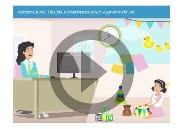 Notbetreuung: Flexible Kinderbetreuung in Ausnahmefällen