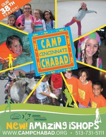 Camp Chabad Summer Brochure 2014