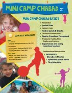 Camp Chabad Summer Brochure 2014 - Page 4