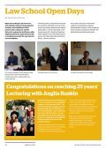 Anglia Law School newsletter November 2015 - Page 2