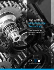 The State of Manufacturing Technology