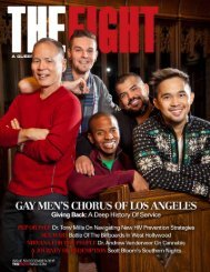 THE FIGHT SOCAL'S LGBT MONTHLY MAGAZINE DECEMBER 2015