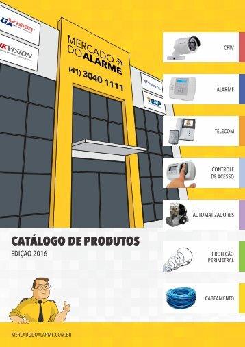 Catálogo de Produtos MDA edição 2016 - versão web
