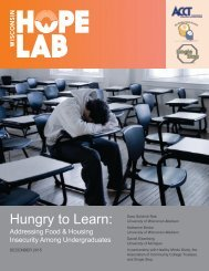 Hungry to Learn