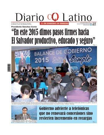 Edición 07 de Diciembre de 2015
