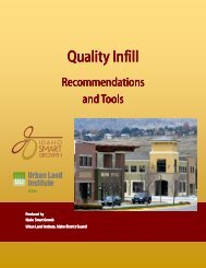 Quality Infill Quality Infill - Idaho Smart Growth