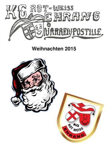 Narrenpost Winter 2015