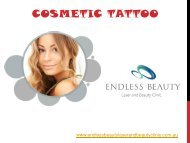 Cosmetic Tattoo - Endless Beauty