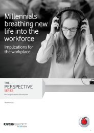 Millennials breathing new life into the workforce